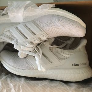 Adidas Ultra-boost NEW white ladies 7.5 shoes